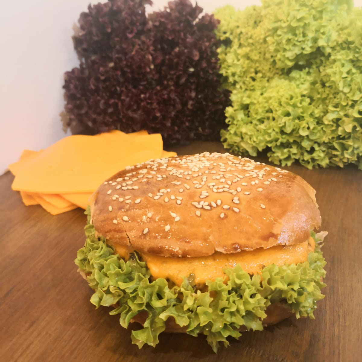MENU MAXI CHEESEBURGER